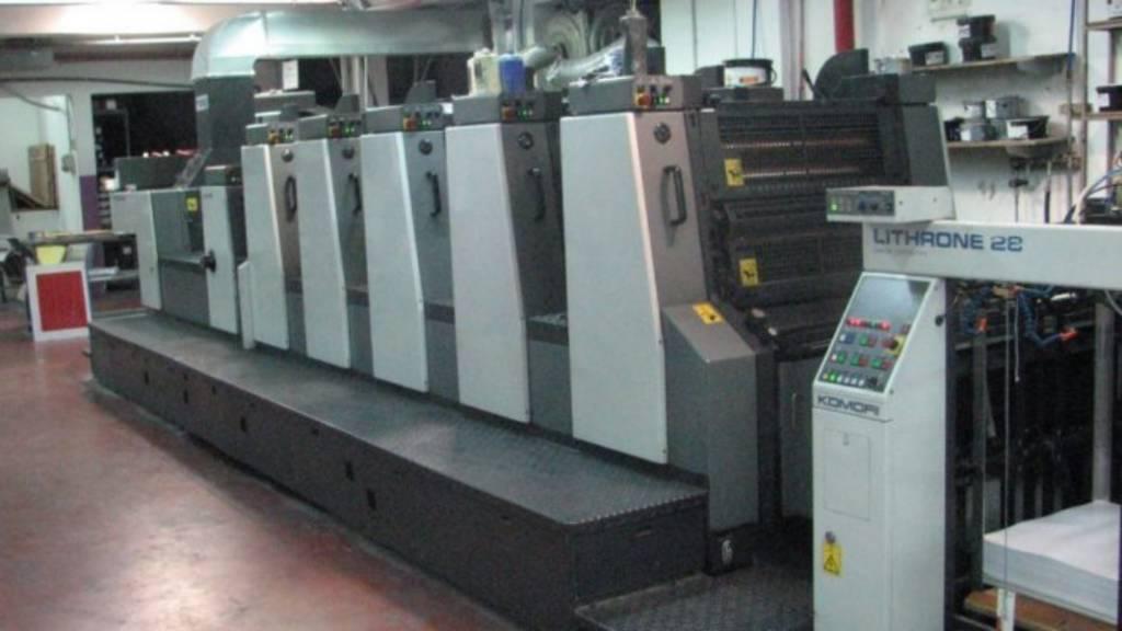 Grafičke mašine i održavanje – Ofset štampa